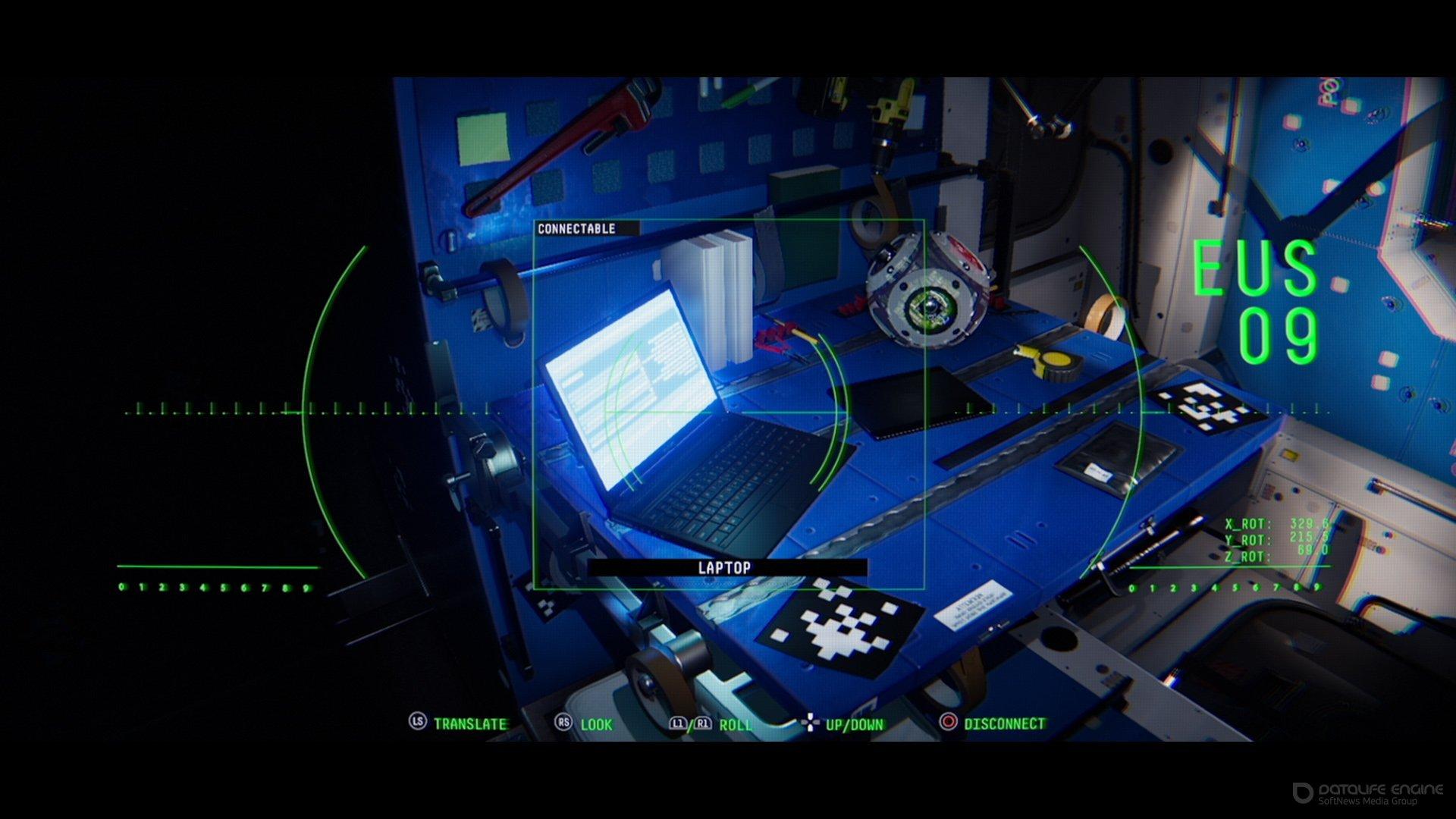 Скриншот к игре Observation v.1.16 [CODEX] (2019) скачать торрент Лицензия