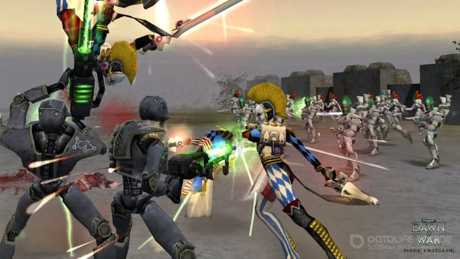 Скриншот к игре Warhammer 40000: Dawn of War – Dark Crusade (2006) скачать торрент RePack
