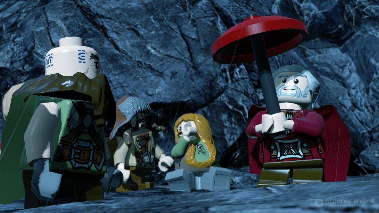 Скриншот к игре LEGO The Hobbit (2014) скачать торрент RePack